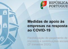 Guia relativo à flexibilização do pagamento de impostos e contribuições (2.º trimestre de 2020)