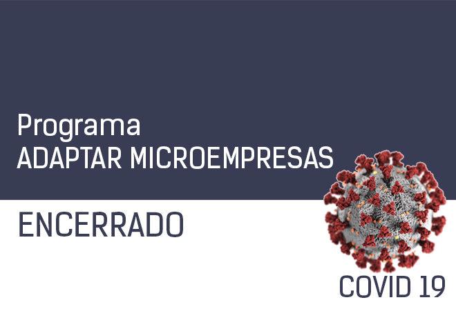 Programa Adaptar Microempresas encerrado!
