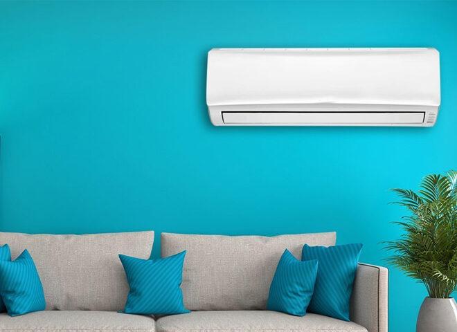 Venda de aparelhos de ar condicionado
