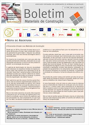 Boletim Materiais de Construção nº 379