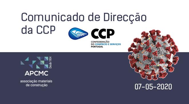 Comunicado de Direcção da CCP