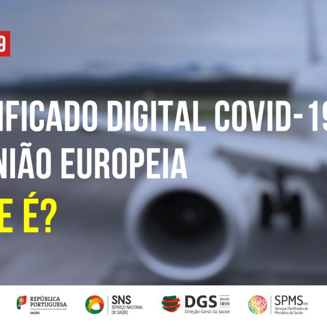 Certificado Digital Covid da UE. Orientação da DGS