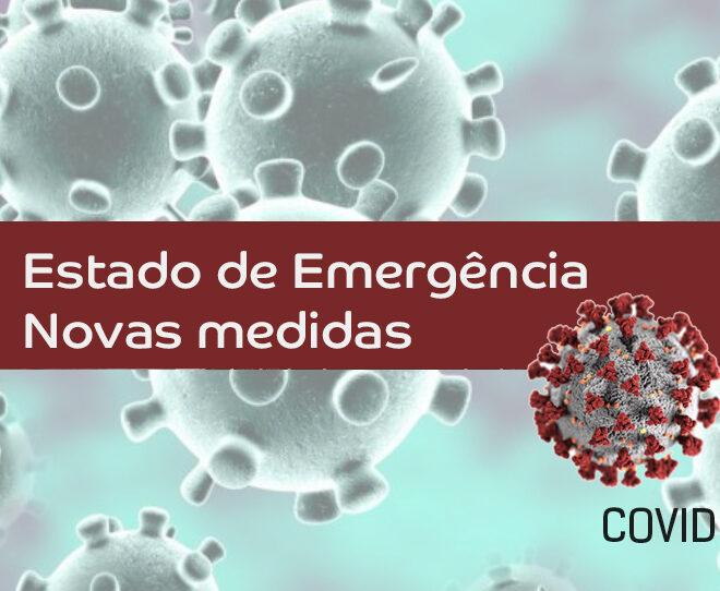 Estado de Emergência – Novas medidas