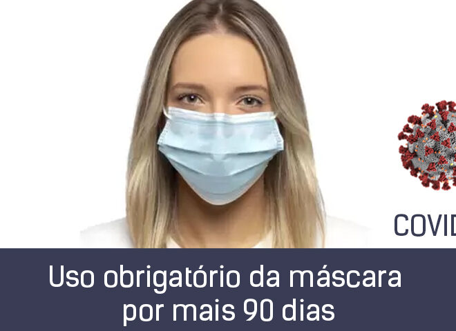 Máscara obrigatória no espaço público até 12 de setembro