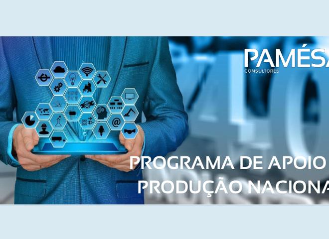 Programa de Apoio à Produção Nacional   Candidaturas Abertas!