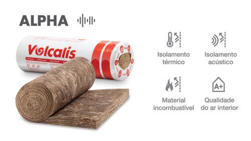 Volcalis ALPHA – Lã Mineral com prestações melhoradas